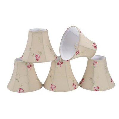 6 Cotton Bell Candelabra Shade