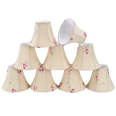 6 Cotton Bell Candelabra Shade