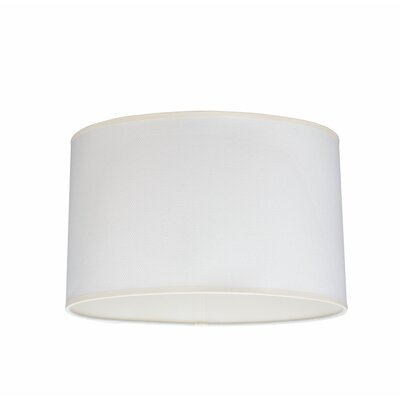 15.5 Linen Oval Lamp Shade