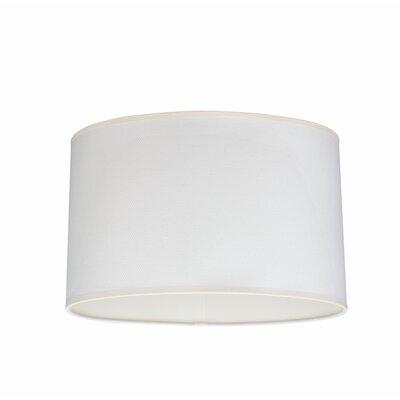 15.5 Linen Oval Lamp Shade