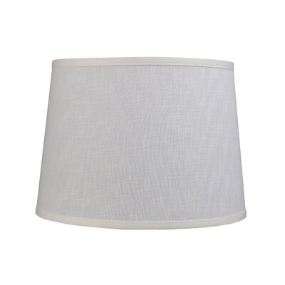 14 Linen Empire Lamp Shade Color: Off White