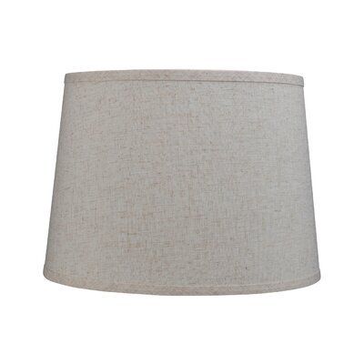 14 Linen Empire Lamp Shade Color: Beige