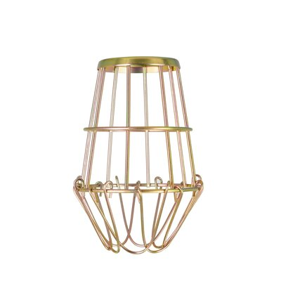 Wire Guard 4 Metal Novelty Wall Sconce Shade