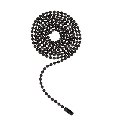 Beaded Pull Chain Color: Oil Rubbed Bronze