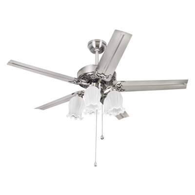 3.9 Glass Novelty Ceiling Fan Fitter Shade