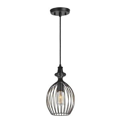 Purtell Adjustable 1-Light Hanging Mini Pendant