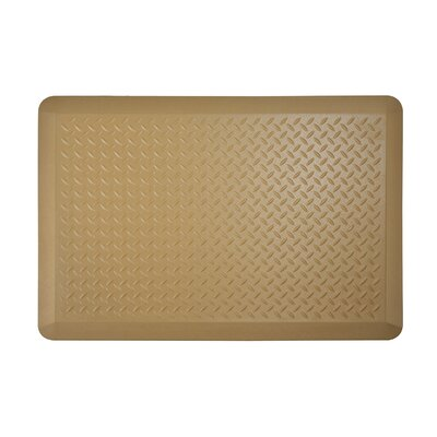 Tread Plate Kitchen Mat Color: Ice Coffee, Set of: 1