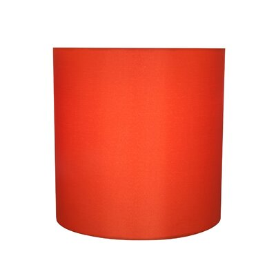 Transitional Solid Spider 8 Fabric Drum Lamp Shade