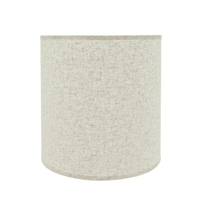Transitional 15 Linen Drum Lamp Shade Color: Beige