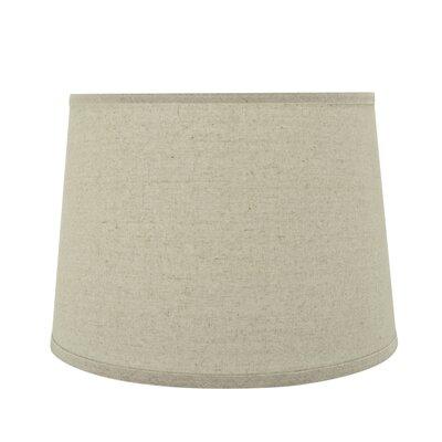 Transitional Hardback 14 Linen Empire Lamp Shade Color: Light Gray
