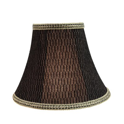 Transitional 12 Fabric Bell Spider Lamp Shade