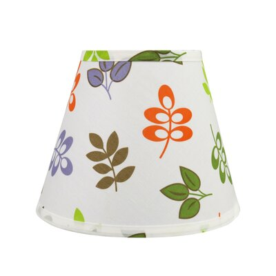 Transitional Hardback 9 Fabric Empire Leaves Lamp Shade