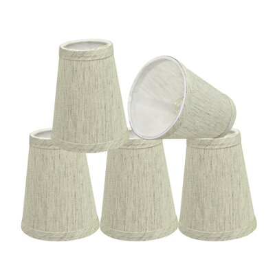 Modern 4 Linen Empire Lamp Shade Color: Off White