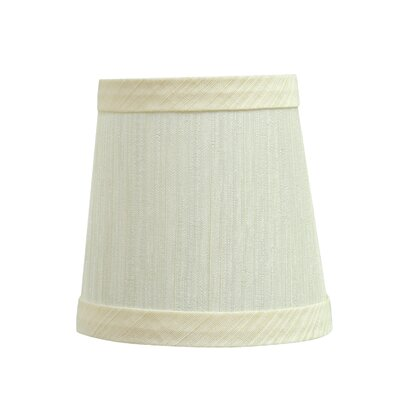 Clip On 4 Fabric Empire Lamp Shade