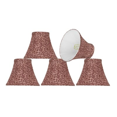 Modern 6 Fabric Bell Lamp Shade