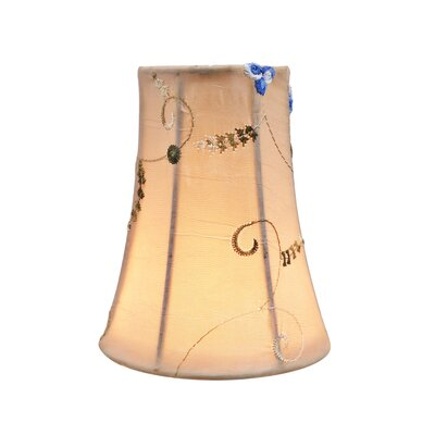 4 Fabric Bell Scroll Lamp Shade