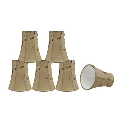 4 Fabric Bell  Scroll Lamp Shade