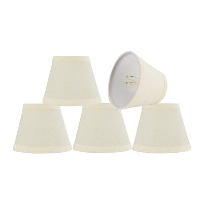 5 Fabric Bell Floral Lamp Shade