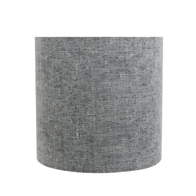 Clip On 5 Fabric Drum Lamp Shade