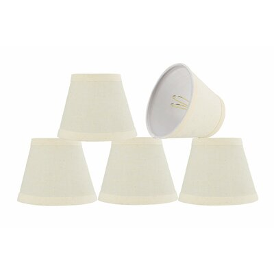 Modern 5 Fabric Empire Lamp Shade