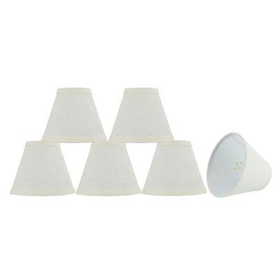 Modern 6 Linen Empire Lamp Shade