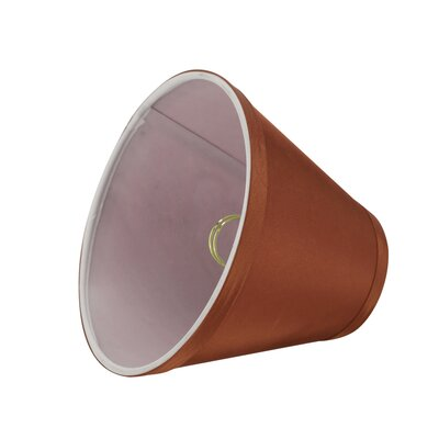 Modern 6 Fabric Empire Clip on Lamp Shade