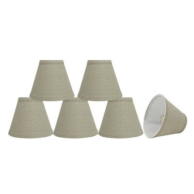 Modern 6 Fabric Empire Lamp Shade Color: Khaki