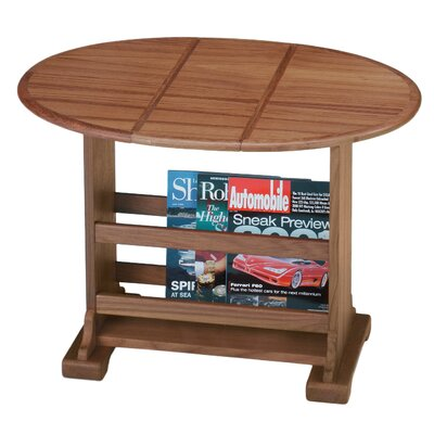 Drop Leaf Oval Coffee Table