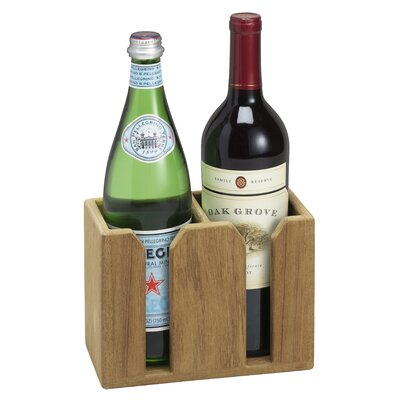 2 Bottle Tabletop Wine Holder