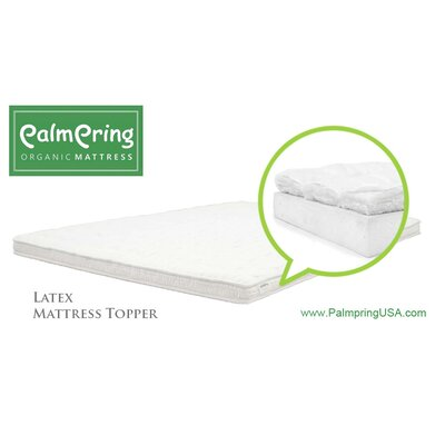 Latex Mattress Topper Size: California King