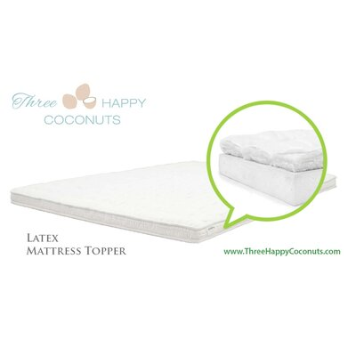 Latex Mattress Topper Size: Twin