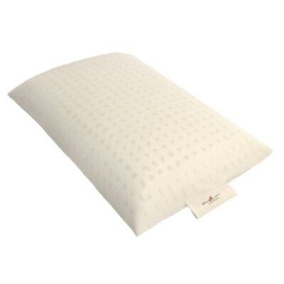 Happiness Organic Dunlop Latex Pillow Size: Queen