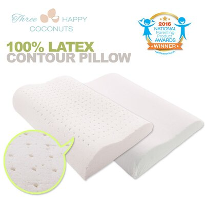 Delight Organic Dunlop Latex Pillow Size: Queen