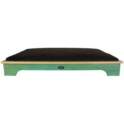 Dog Bed Color: Woodland Green, Size: Large
