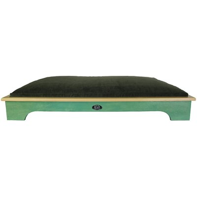 Dog Bed Color: Woodland Green, Size: Large