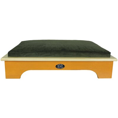 Dog Bed Size: Medium, Color: Bright Tamra