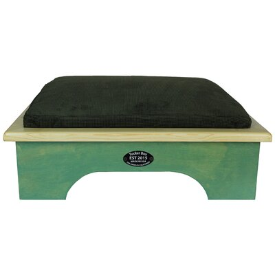 Dog Bed Size: Small, Color: Woodland Green