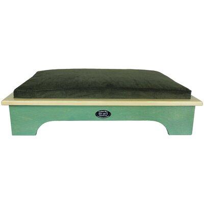 Dog Bed Color: Woodland Green, Size: Medium