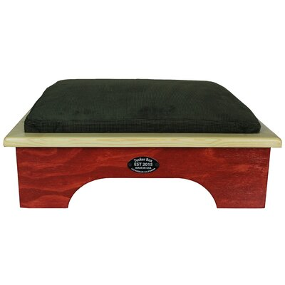 Dog Bed Size: Small, Color: Barn Red