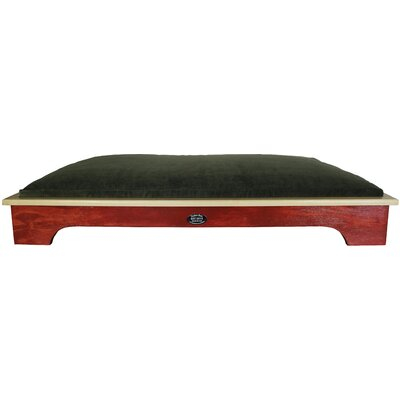 Dog Bed Color: Barn Red, Size: Large