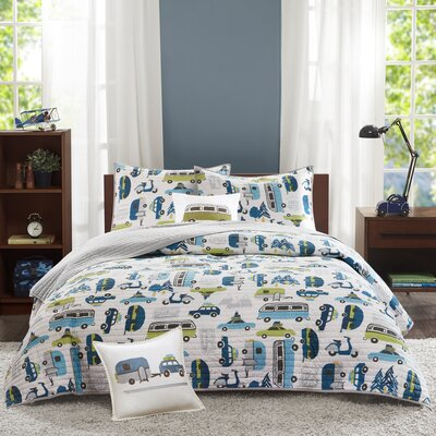 Road Trip Coverlet Set Size: Full/Queen