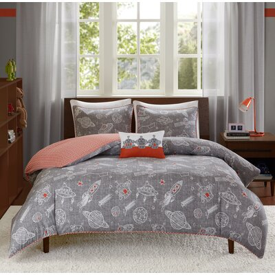 Orbit Reversible Comforter Set Size: Full/Queen