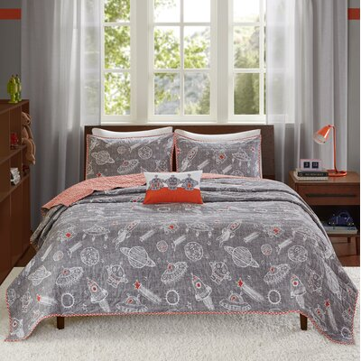 Orbit Reversible Coverlet Set Size: Full/Queen
