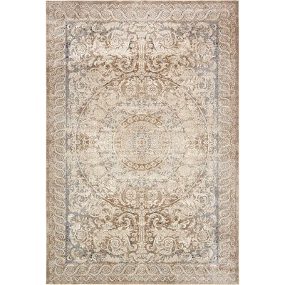 Abbeville Beige Area Rug Rug Size: 10 x 145