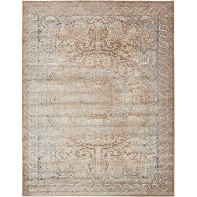 Abbeville Beige Area Rug Rug Size: 8' x 10'