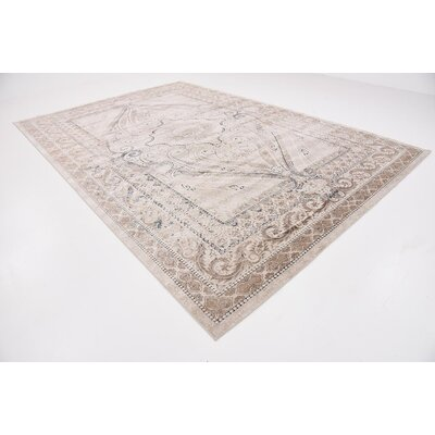 Abbeville Brown/Beige Area Rug Rug Size: 10 x 145