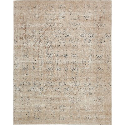 Abbeville Beige Area Rug Rug Size: 8 x 10