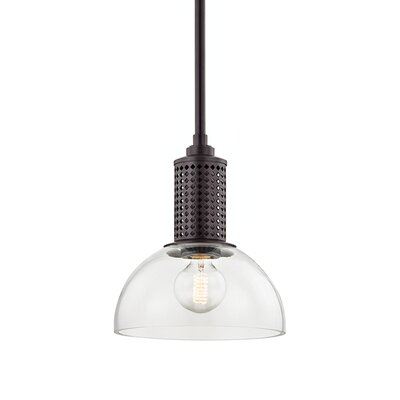 Euphemia 1-Light Mini Pendant Finish: Old Bronze