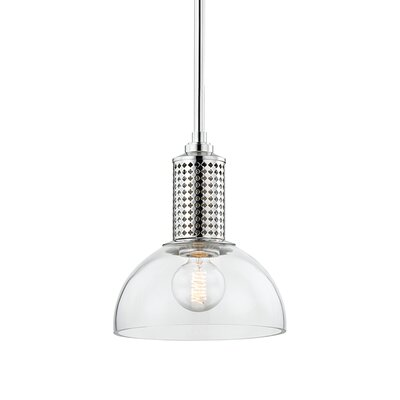 Euphemia 1-Light Mini Pendant Finish: Polished Nickel