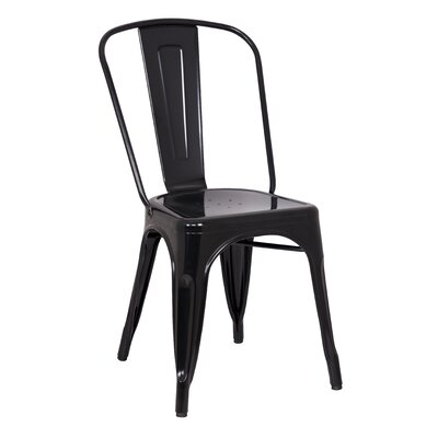 Castalia Side Chair Finish: Black